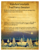 Christmas Cabins DonationFlyer